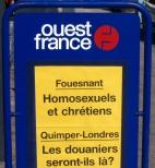 Panneau Ouest France