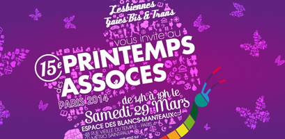 David & Jonathan participe au Printemps des Associations à Paris – mars 2014